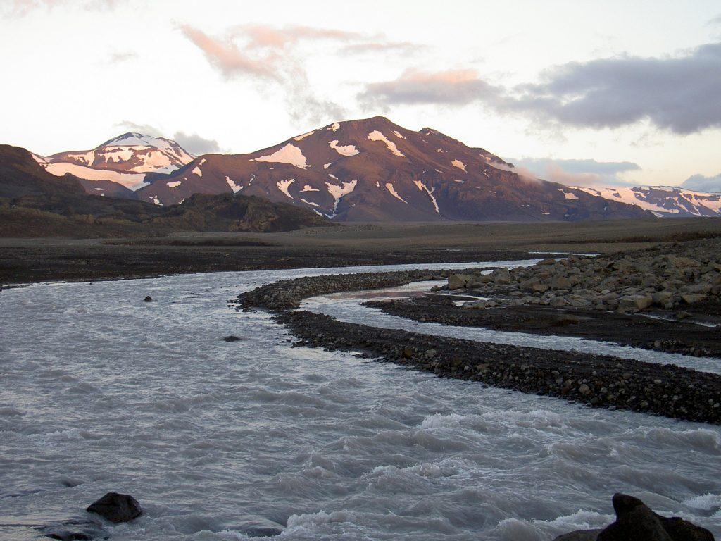'Langjökull Glacier' Image source: Wikimedia