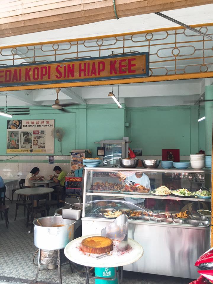 Restoran Sin Hiap Kee (Chinese Mamak Rice).