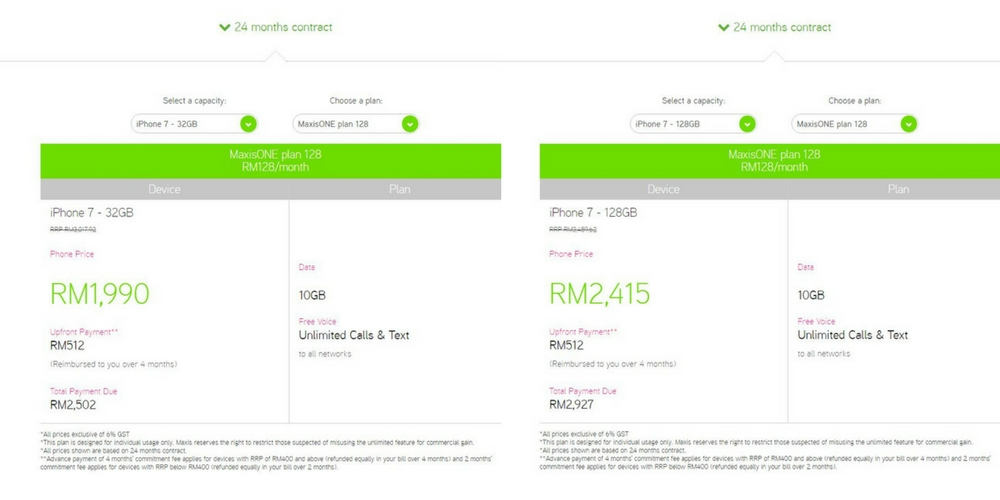 4 Mobile Plans And Packages To Get An iPhone 7 In Malaysia