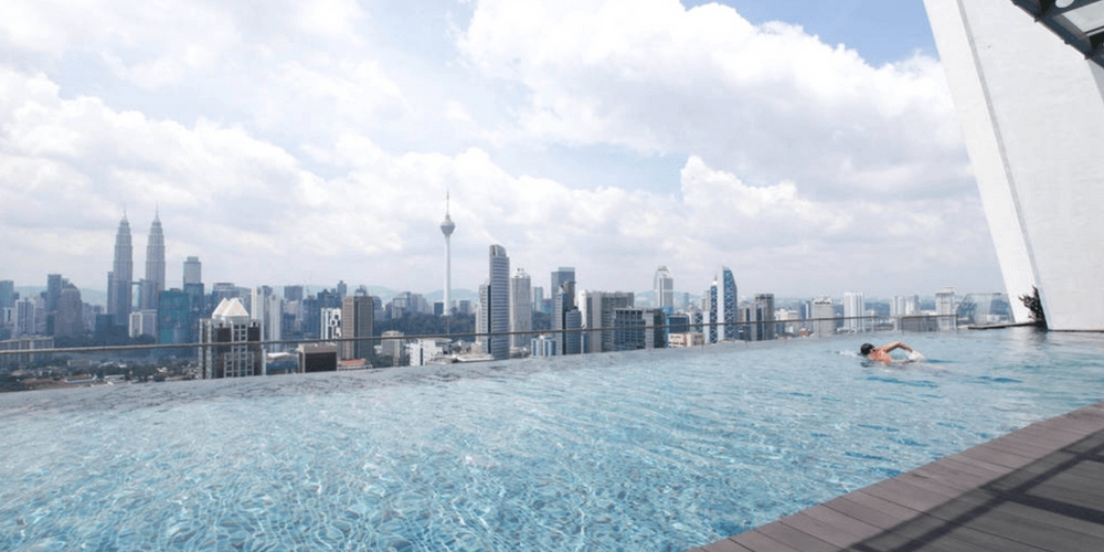 11 Cool Rooftop Infinity Pools In KL And Klang Valley