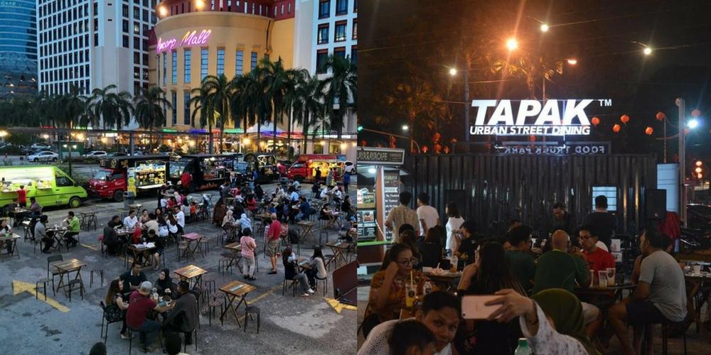 Food Truck Park TAPAK Urban Street Dining Opens In PJ