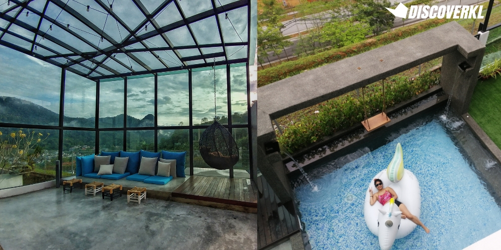 Rawang Staycation Homes: IO Home Dolomite Templer Glasshouse