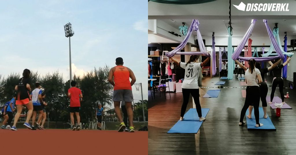 Fitness Classes Outlet Delivery