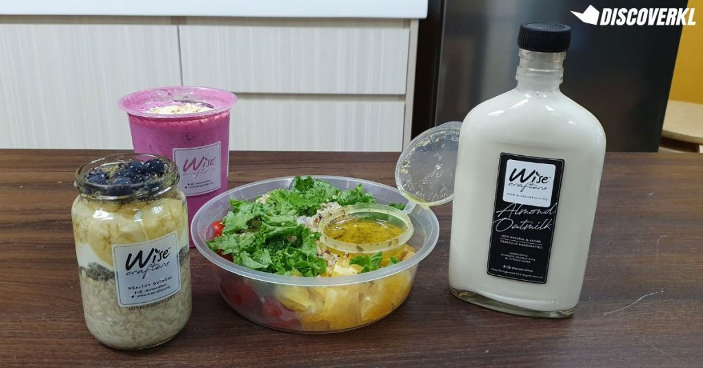 Wisecrafters Healthy Clean Eating Meal Plan Food Review KL